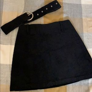 Zara mini skirt (dark blue)